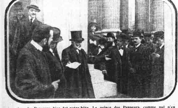 Hommage à jean Pierre Brisset Les Bains Douches Alençon