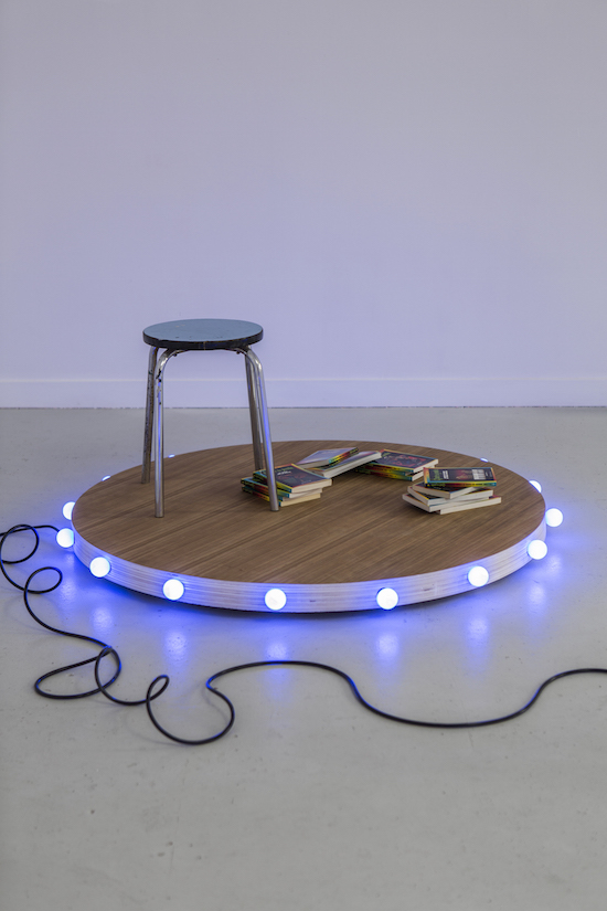 Marcel Devilliers Coeur à cuir Les Bains Douches Alençon art contemporain
