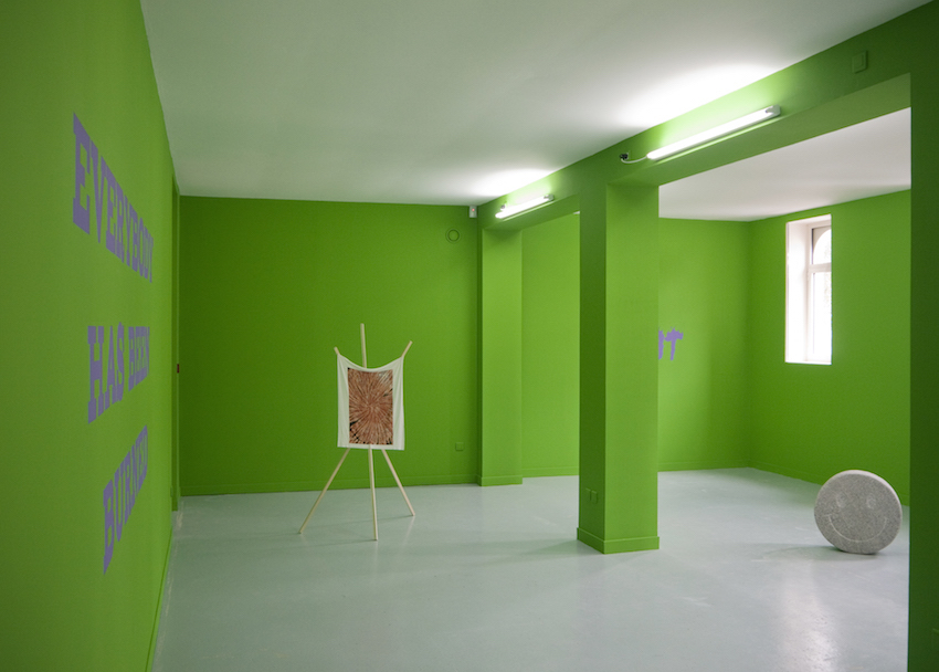 Yvan Etienne Joey Villemont Voices Green and purple Les Bains Douches Alençon art contemporain
