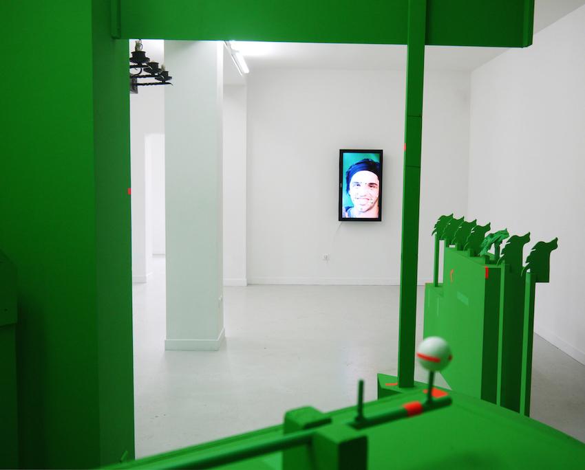 Arnaud Dezoteux Vers le sous bois des aurores les bains douches alençon art contemporain